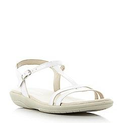 Roberto Vianni - White 'Laira' strappy comfort sandals