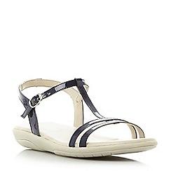 Roberto Vianni - Navy 'Laira' strappy comfort sandals