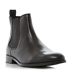 Dune - Black 'Montpelier' round toe chelsea boots