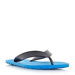 Dune - Blue 'Islannder' classic flip flops