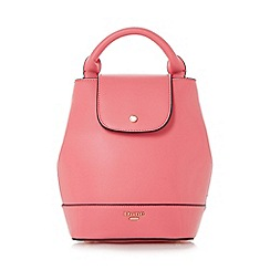 Dune - Pink 'Dieber' top handle mini backpack bag
