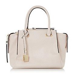 Dune - Light pink 'Delfie' triple zip compartment winged handbag