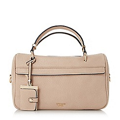 Dune - Taupe 'Dassh' small sporty holdall bag