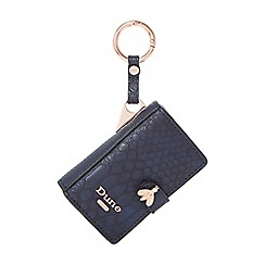 Dune - Navy 'Samille' book bag charm