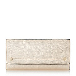 Dune - Rose 'Kemily' stud detail fold over purse