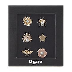 Dune - Gold 'Sneakies' shoe lace gems