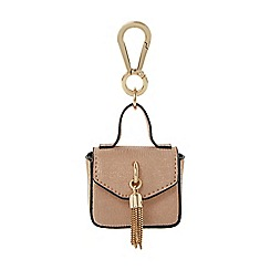 Dune - Rose 'Sassle' mini tassel bag keyring