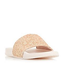 Head Over Heels by Dune - Light pink 'Larons' pool slider