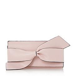 Dune - Light pink 'Kbow' twist knot purse