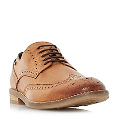 Dune - Tan 'Britannia' casual brogue shoes