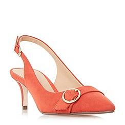 Roberto Vianni - Red 'Corinna' buckle trim slingback  court shoes