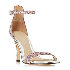 Head Over Heels by Dune - Multicoloured 'Madera' two part high heeled stiletto sandals