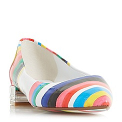 Dune - Multicoloured 'Brasillia' rio stripe shoes