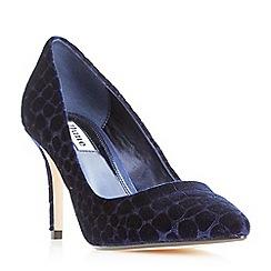 Dune - Navy 'Aisha' high heel court shoes