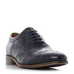 Bertie - Navy 'Priority' oxford brogue shoes