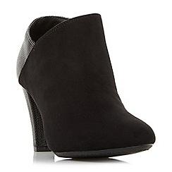 Roberto Vianni - Black 'Opollo' heeled shoe boots