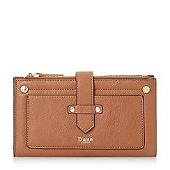 Dune - Tan 'Kauna' front strap purse