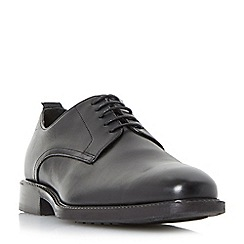 Dune - Black 'Porter' classic gibson shoes