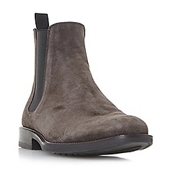 Dune - Grey 'Mark' rubber sole chelsea boots