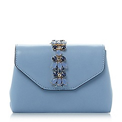 Dune - Blue 'Sabrina-micro' jewelled micro bag