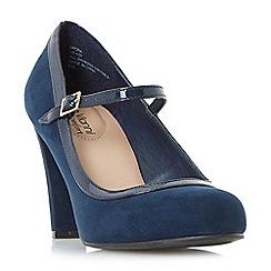 Roberto Vianni - Navy 'Arora' mary jane high heel shoes