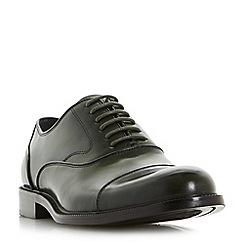 Dune - Green 'Priest' heavy toecap oxford shoes