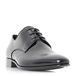 Dune - Black 'Patrol' classic gibson shoes