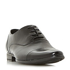 Dune - Black 'Plasma' formal toecap Oxford shoes