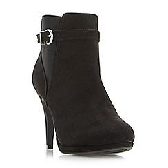 Roberto Vianni - Black 'Ozzie' strap gusset platform boots