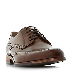 Dune - Brown 'Banbury' leather brogue shoes