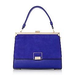 Dune - Blue 'Dinidame Di' smart top handle handbag