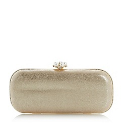 Roland Cartier - Gold 'Beanie' pearl clasp clutch bag