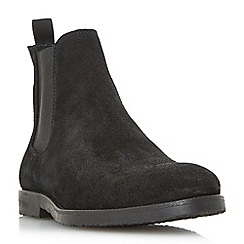 Dune - Black 'Cowes' casual chelsea boots