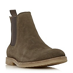 Dune - Khaki 'Cowes' casual chelsea boots