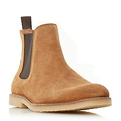 Dune - Tan 'Cowes' casual chelsea boots