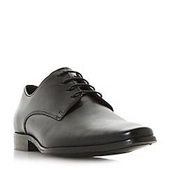 Dune - Black 'Project' smart lace up gibson shoes