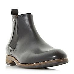 Dune - Black 'Cameo' stud detail chelsea boots