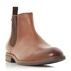 Dune - Tan 'Cameo' stud detail chelsea boots