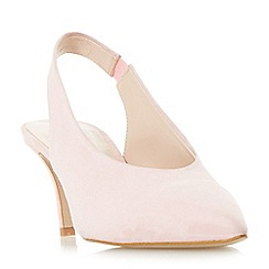 Dune - Light pink 'Cantrel' v cut slingback court shoes