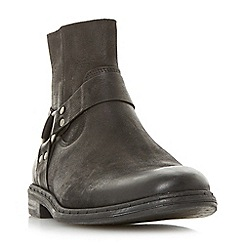 Dune - Black 'Critter' casual gaucho ankle boots