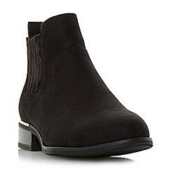 Head Over Heels by Dune - Black 'Pepper' smart Chelsea boots