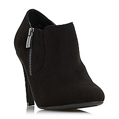 Head Over Heels by Dune - Black 'Olisa' high stiletto heel ankle boot