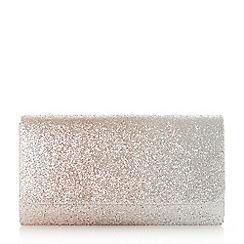 Head Over Heels by Dune - Rose 'Brandie' smart rectangle clutch bag