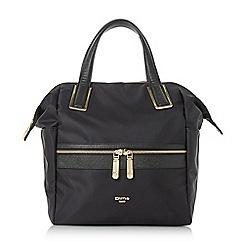 Dune - Black 'Dindyback' large nylon backpack