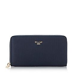 Dune - Navy 'Kiponie' zip around purse