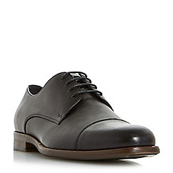 Bertie - Black 'Paradox' square toe lace up shoes