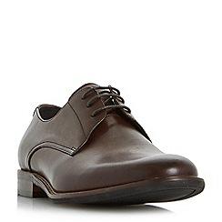 Bertie - Brown 'Proxy' plain toe gibson shoes