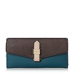 Dune - Mid blue 'Katte' strap and hardware detail purse