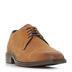 Bertie - Tan 'Bromin' casual lace up gibson shoes