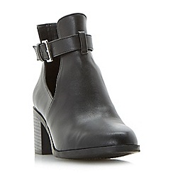 Head Over Heels by Dune - Black 'Paradey' ankle boots